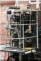 SD6909 : Bolton Steam Museum - Diamond ropeworks engine by Chris Allen