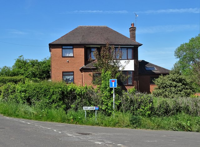 House at Far Lane corner, Ockbrook