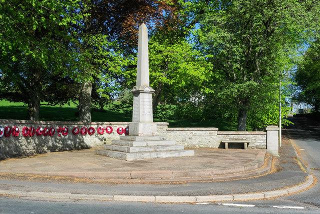 War memorial at Alston