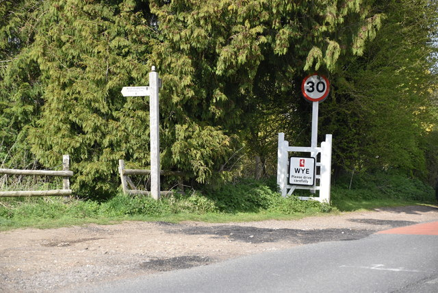 Entering Wye, a second time