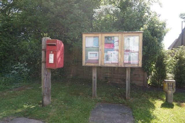 Postbox on Malton Road, Normanby