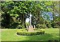 NO2601 : Sculpture in park by Bill Kasman