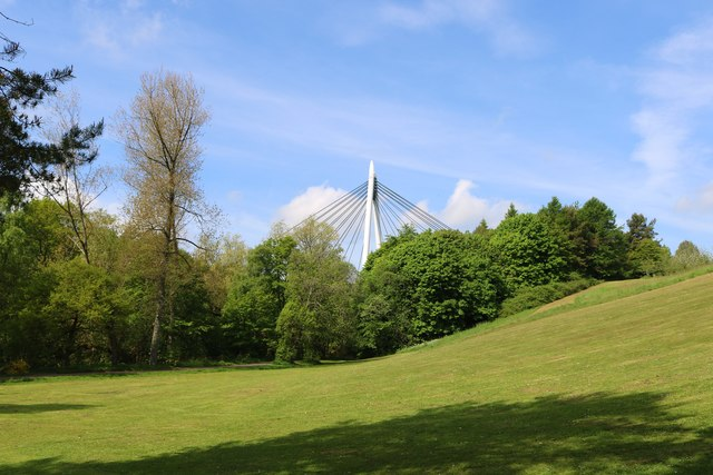 Bridge over Riverside Park