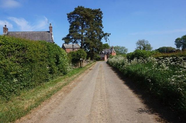Marton Road near The Grange