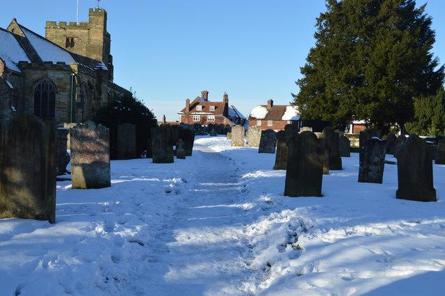 Graveyard, Church of St Mary
