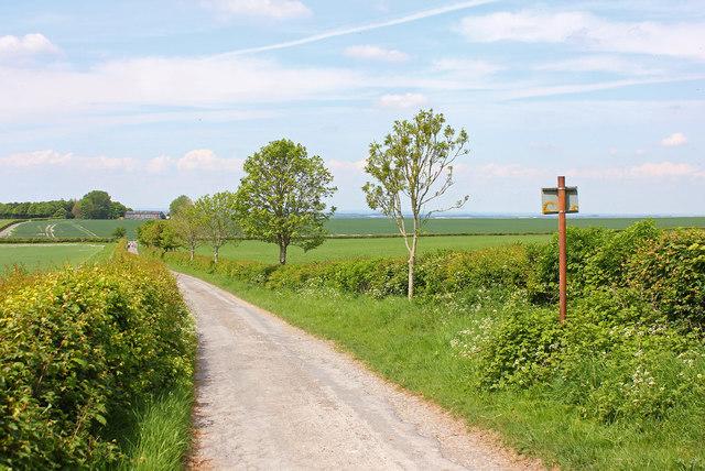 Lane to Folly Farm