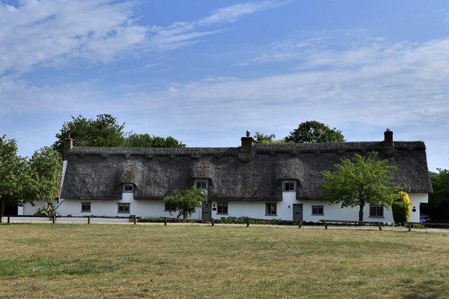 Flempton: Row of cottages
