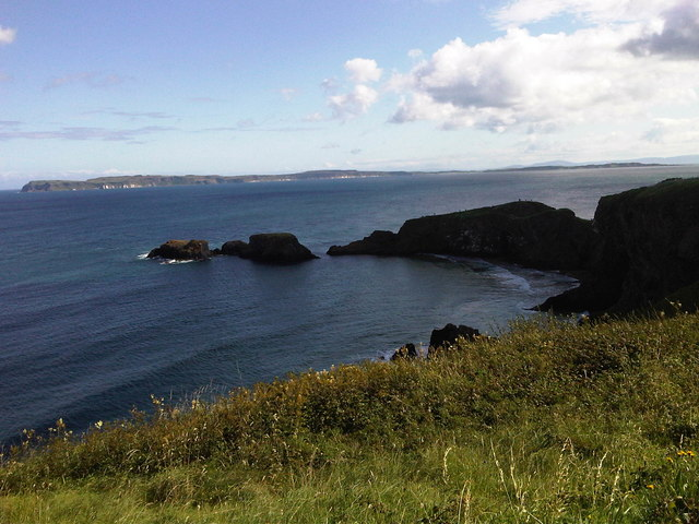 Carrick-a-rede and Rathlin Island