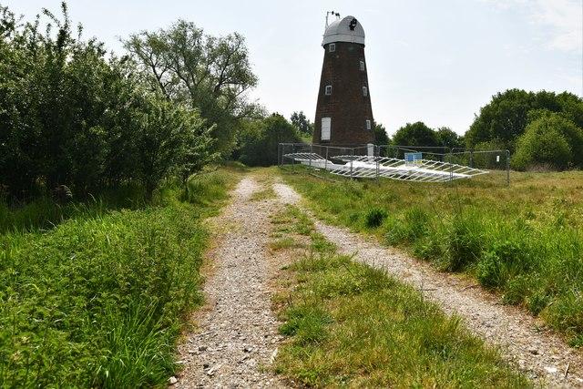 Billingford: The sail-less windmill