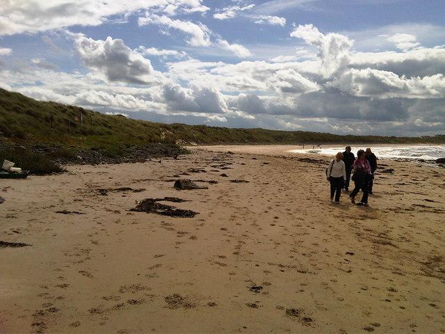 Dooey beach at Giant's Causeway