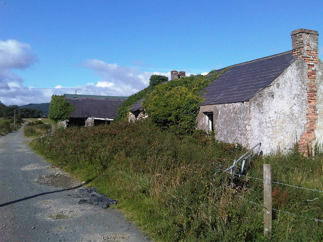 Derelict farm buildings off Aghlisnafin Road