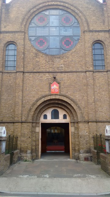 Church of the Most Precious Blood, Southwark