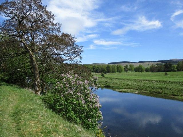 River Clyde near Symington House