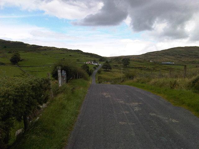 Looking North along the Kilnhill Road