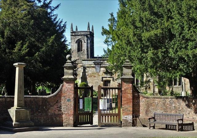 All Saints Church in Risley
