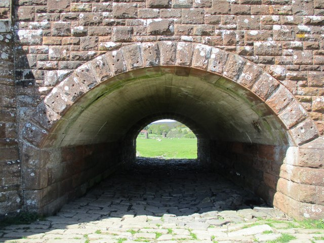 Flood arch on Wolfclyde Bridge
