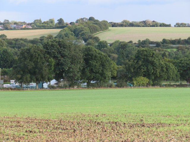 A zoomed view towards Dummer