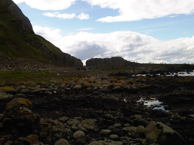 Looking West towards the Giant's Causeway