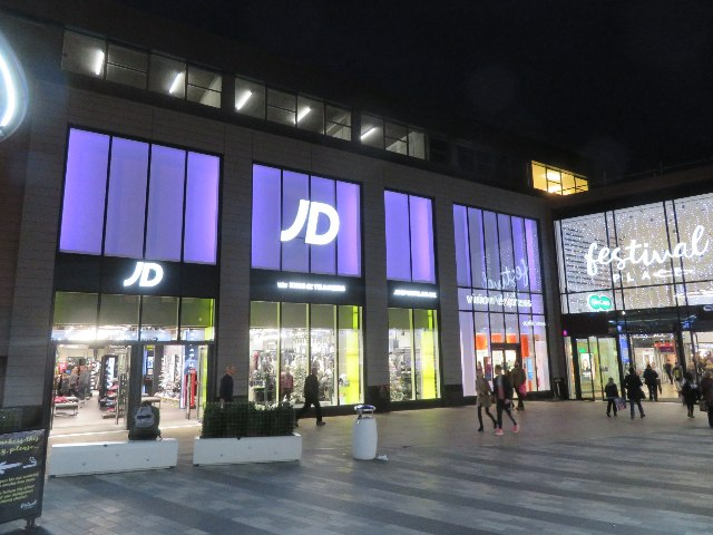 JD at Festival Place