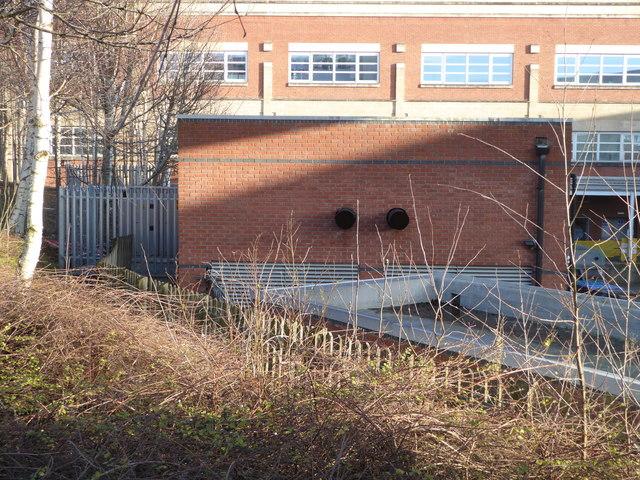 Worcestershire Royal Hospital - generator house