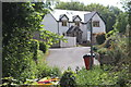 ST1996 : House on private lane off Pennar Lane by M J Roscoe