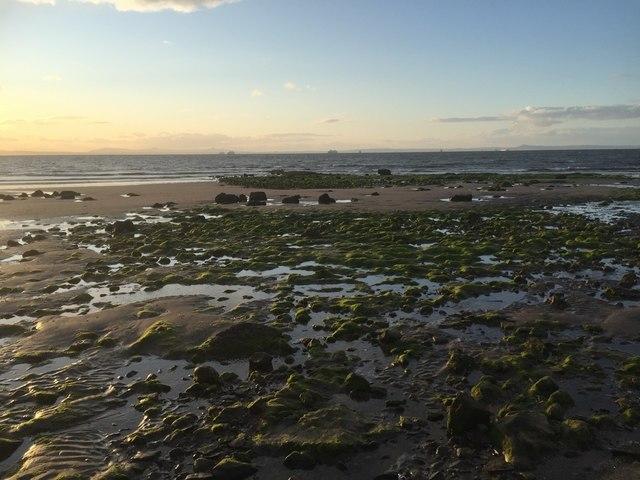 A rocky bit, Seton Sands