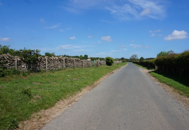 Kirkgate Lane towards Lastingham