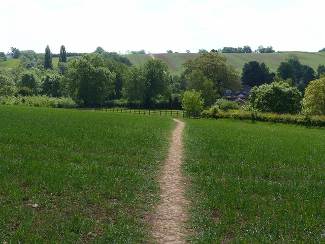 Footpath near Lambley