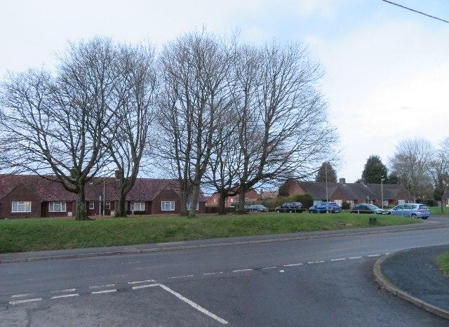 Sainfoin Lane meets Hill Road