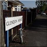 SZ0796 : Kinson: Glendon Avenue by Chris Downer