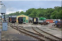 TQ3729 : Bluebell Railway carriage and wagon works, 2009 by Robin Webster