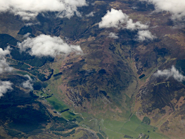 Manor Valley from the air