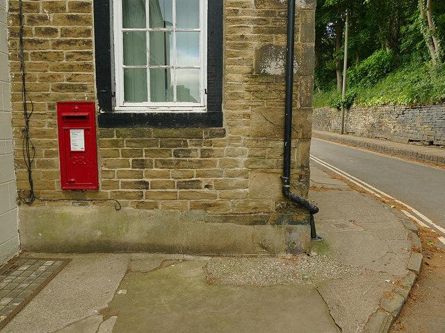 Georgian postbox in Fulneck