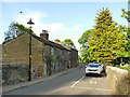 SE2232 : The eastern end of Fulneck village by Stephen Craven