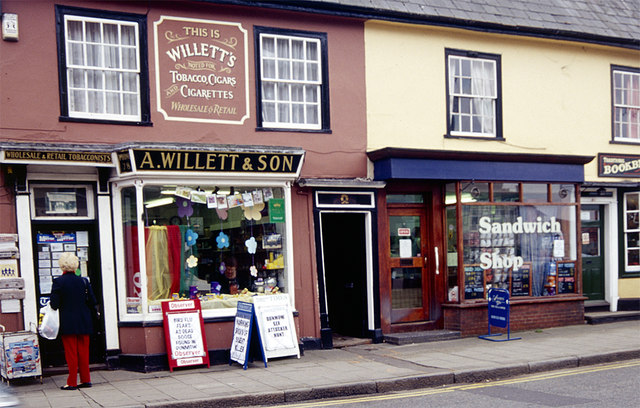 Shops in Great Dunmow