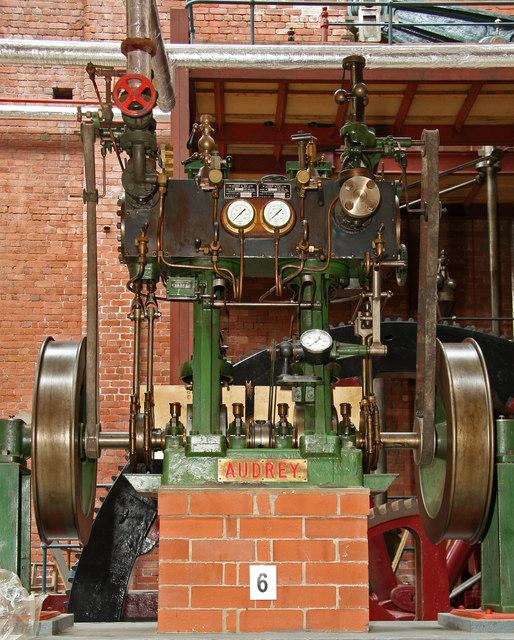 Bolton Steam Museum - Audrey