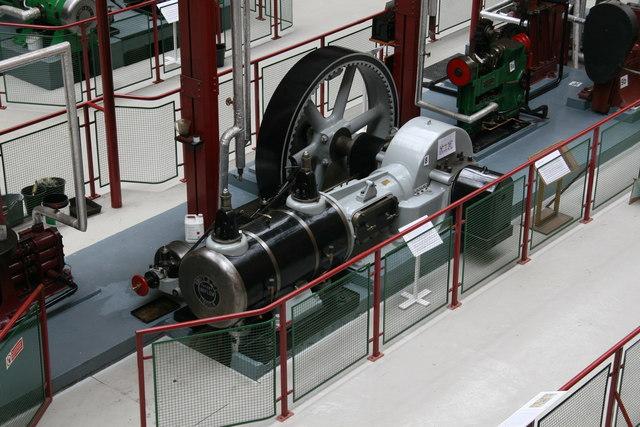 Bolton Steam Museum - Robey uniflow engine