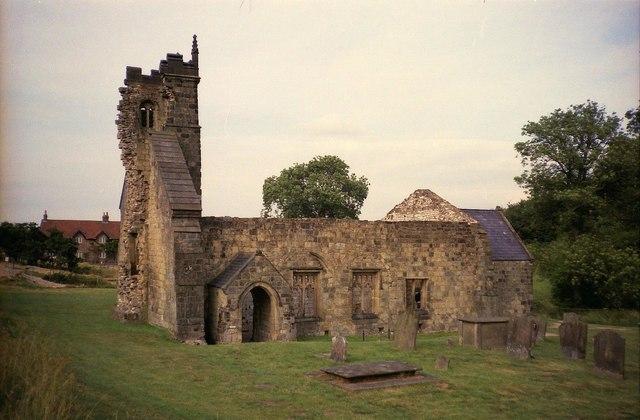 Wharram Percy: The ruined Church of St Martin