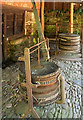 SX8963 : Bellows, Cockington Forge by Derek Harper