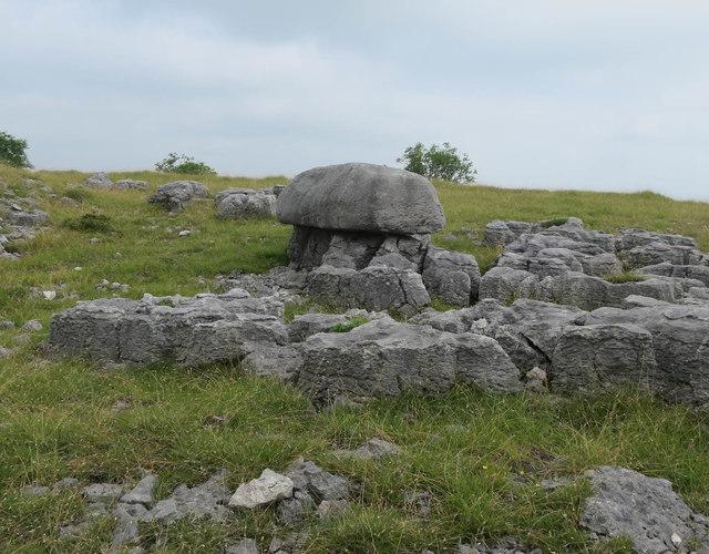 Limestone outcrops, Newbiggin Crags