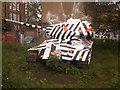 TQ3378 : Russian T34 tank, Bermondsey by Martyn Pattison