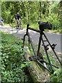 SS5992 : Cycle lane by Alan Hughes