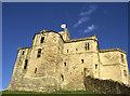 NU2405 : Warkworth Castle Keep by Colin Park