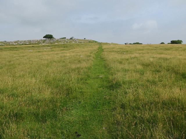 Path to Newbiggin Crags