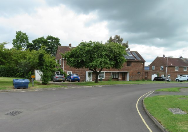 Houses in Sutton Road by Sandy B