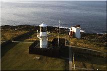 NJ9967 : Light beacon and fog horn, Kinnaird Head by Colin Park