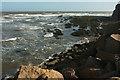 SX9778 : Waves at Langstone Rock by Derek Harper
