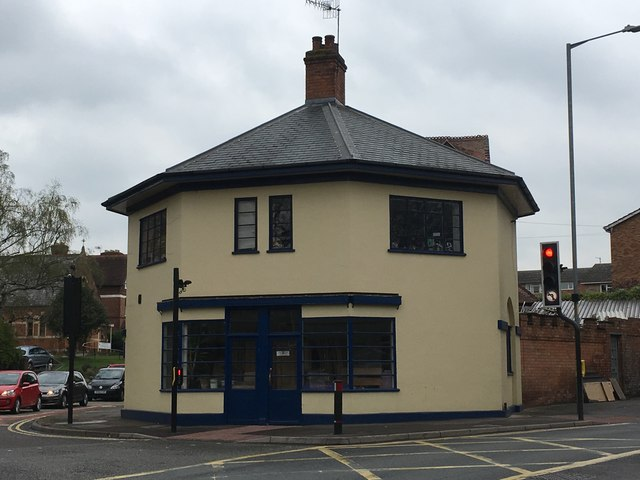 Old Toll House by the A38/A448 junction, Worcester