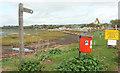 SX9981 : East Devon Way at Exmouth by Derek Harper