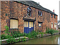 SK2002 : Derelict canalside buildings at Fazeley Junction, Staffordshire by Roger  Kidd